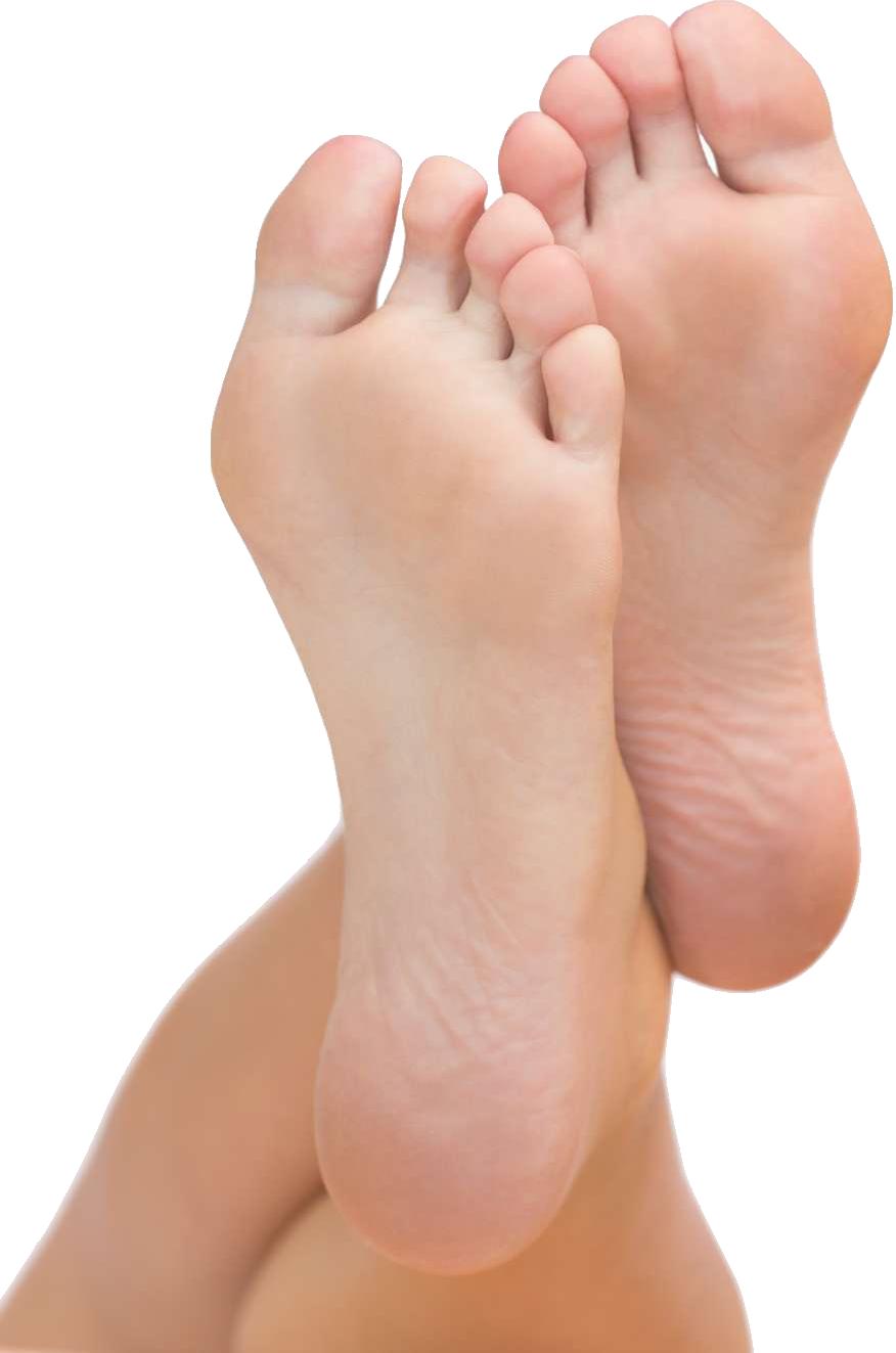 podólogo en Malaga Escaño. Imagen de pies sanos
